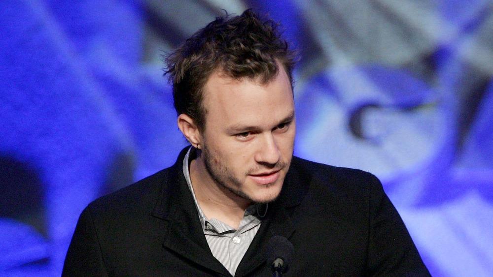 Heath Ledger i svart