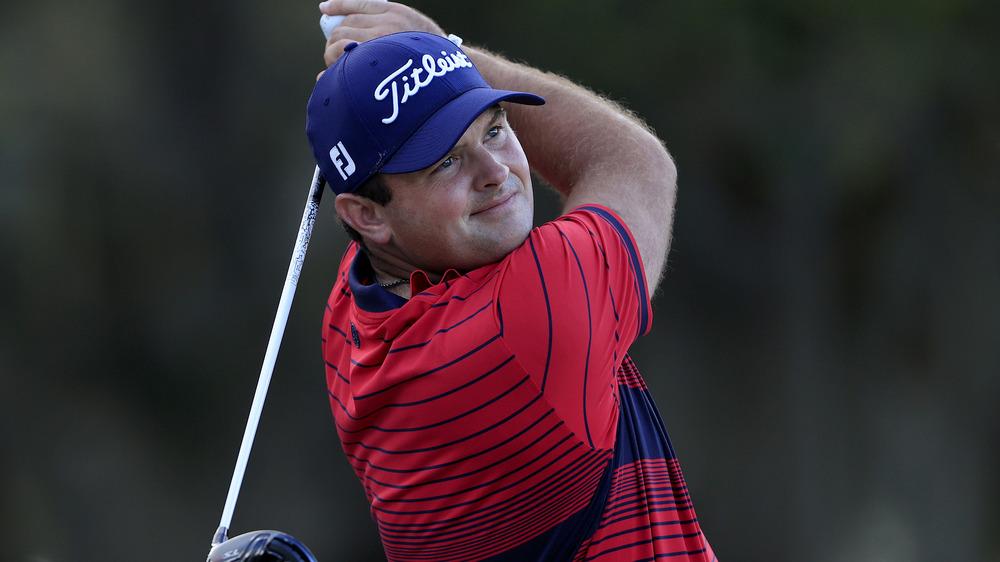 Patrick Reed på golfturnering