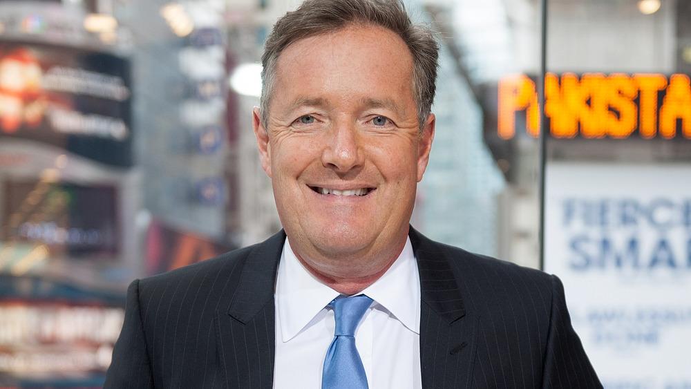 Piers Morgan smiler