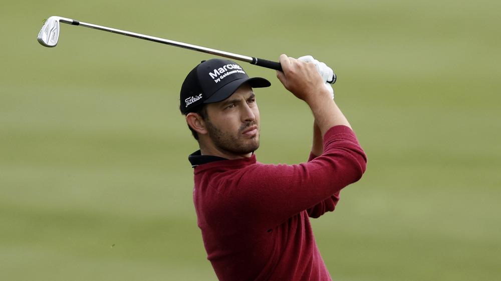 Patrick Cantlay på golfturnering