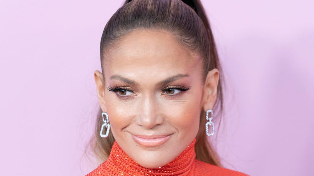Jennifer Lopez smiler