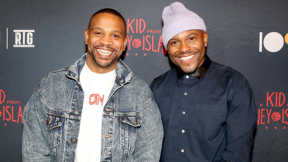 Coodie og Chike på Kid From Coney Island-premieren