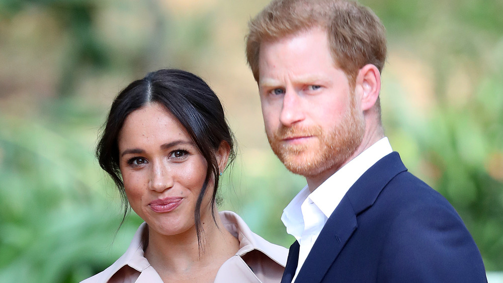 Prins Harry og Meghan Markle på et arrangement