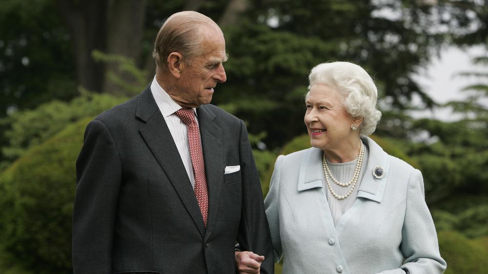 Prins Philip og dronning Elizabeth