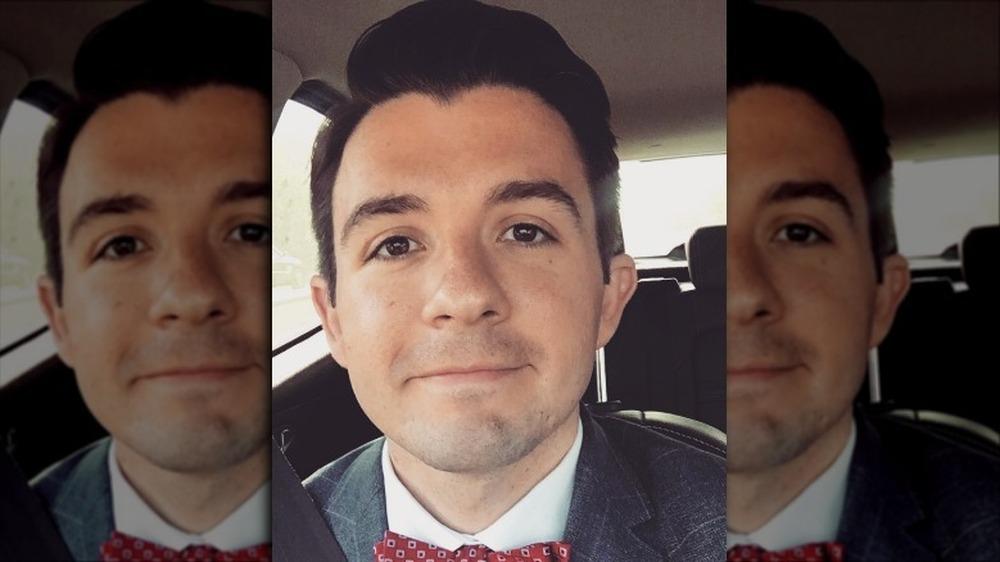 Selfie av Zachary Mabry smilende