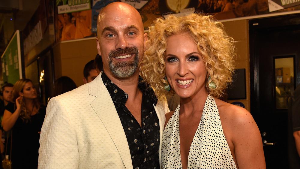 Kimberly og Stephen Schlapman på en prisutstilling