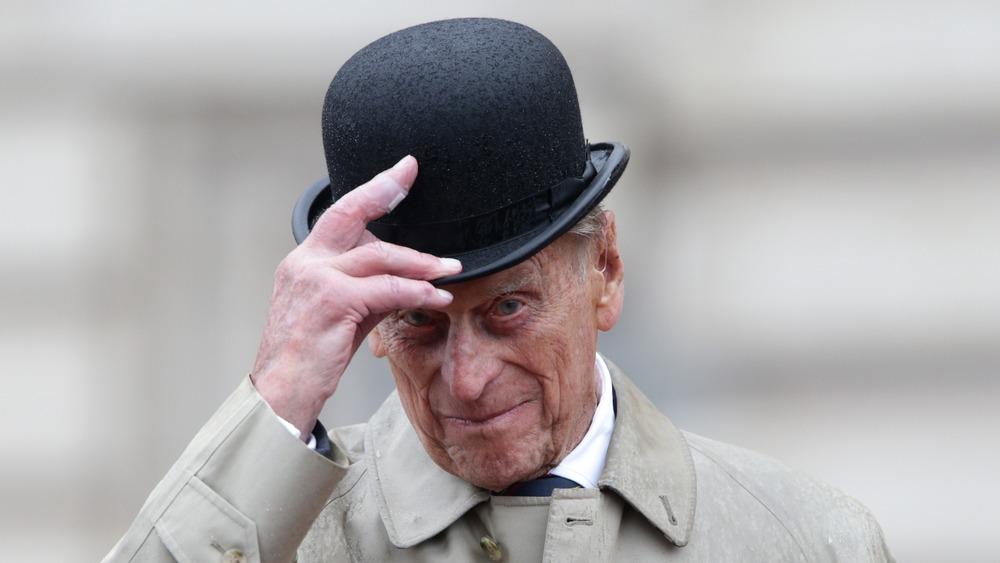 Prins Philip Buckingham Palace-hette