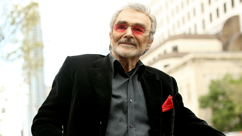 Burt Reynolds smiler