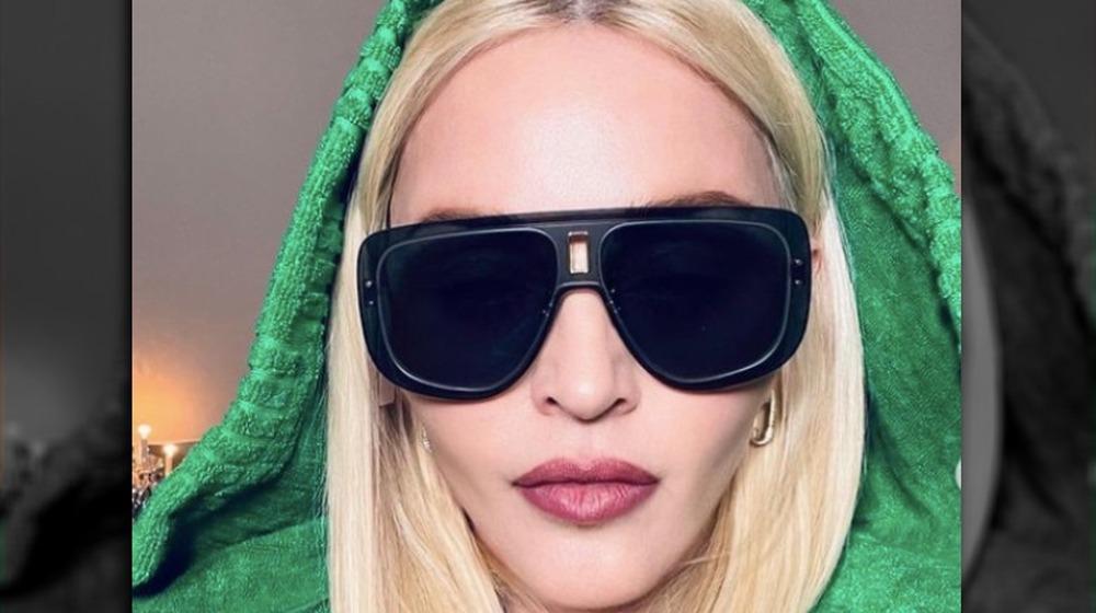 Madonna Instagram-selfies 9. april 2021