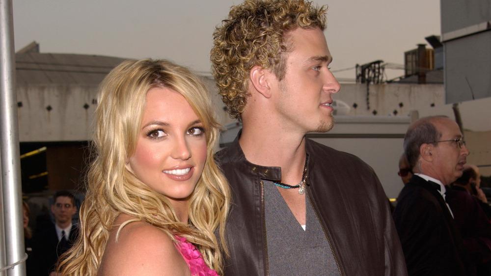 Britney Spears og Justin Timberlake