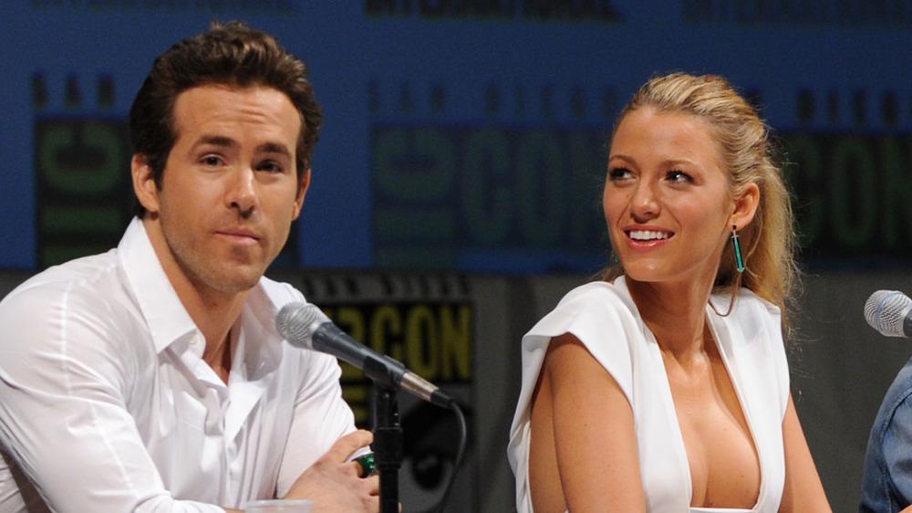 Ryan Reynolds og Blake Lively snakker på Comic-Con 2010