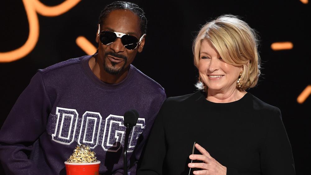 Snoop Dogg og Martha Stewart på MTV Movie 2017