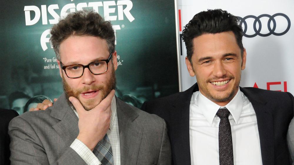 James Franco og Seth Rogen på The Disaster Artist premiere 2017