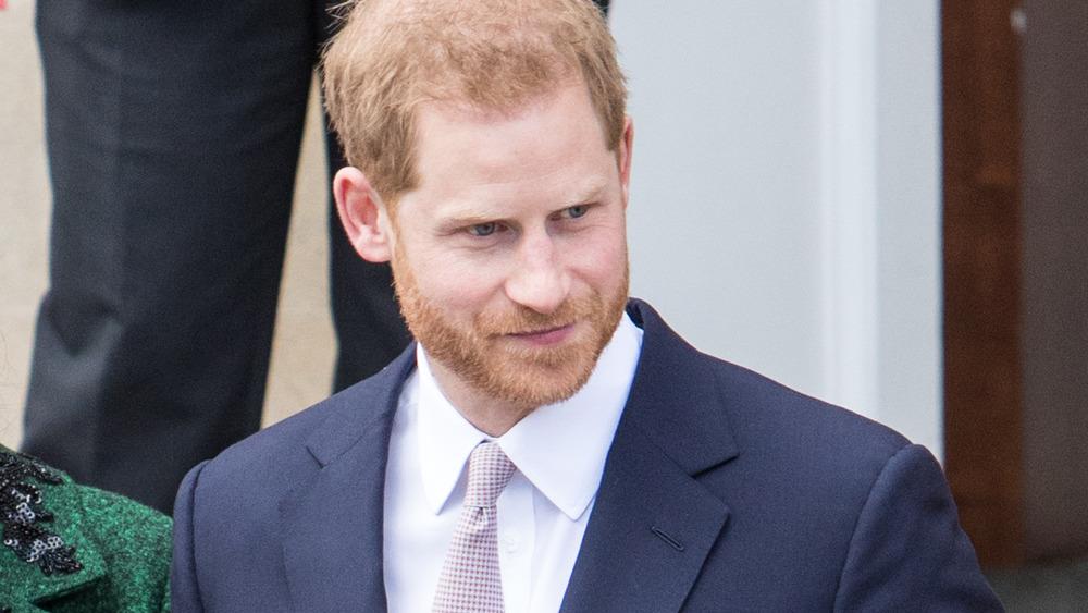 Prins Harry slips