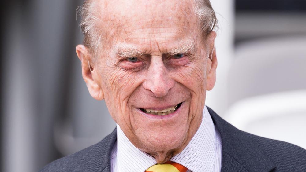 Prins Philip på arrangementet