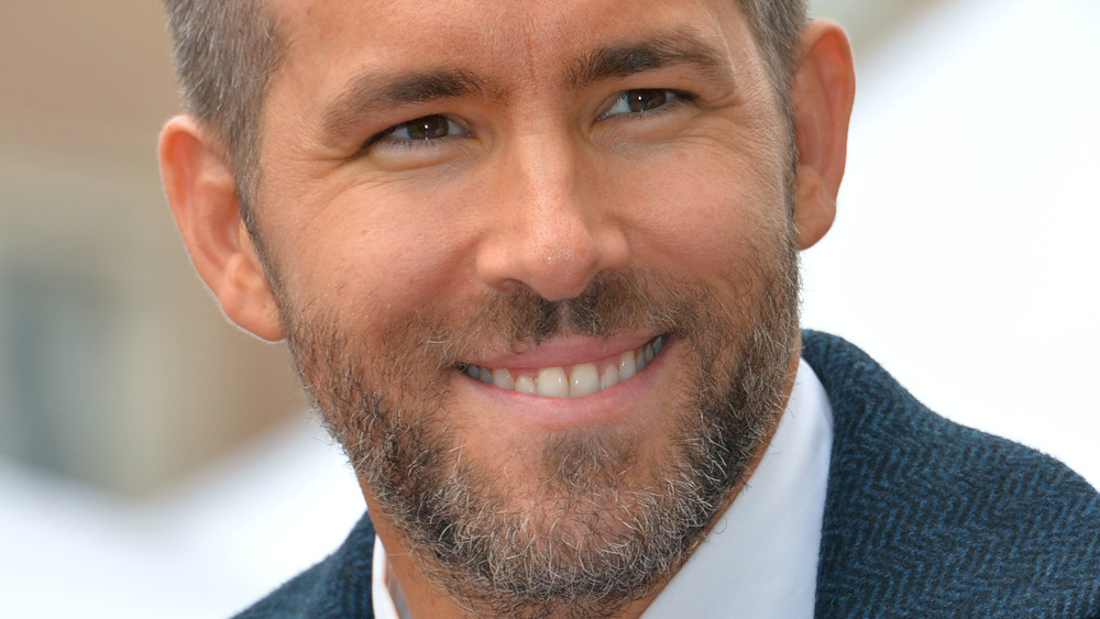 Ryan Reynolds på Hollywood Walk of Fame-seremonien