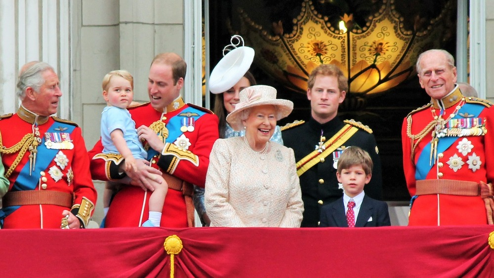 Prins Philip med familien