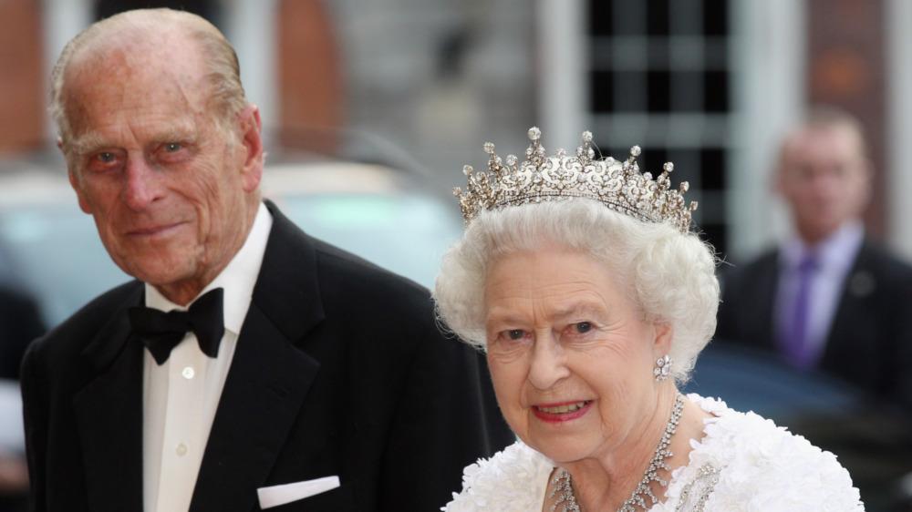 Prins Philip og dronning Elizabeth på et kongelig arrangement