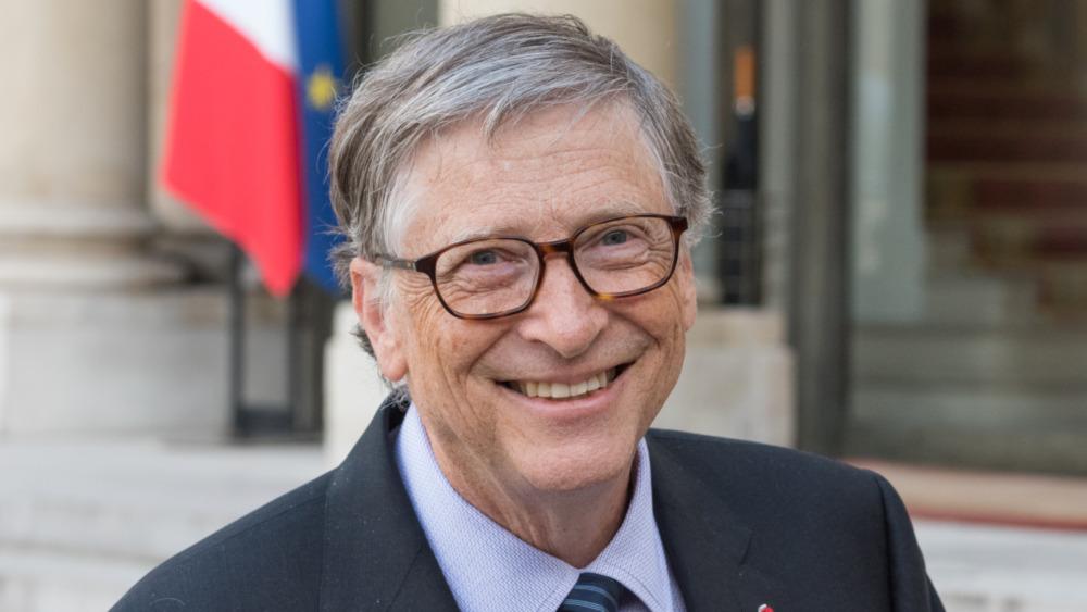 Bill Gates poserer for et portrett
