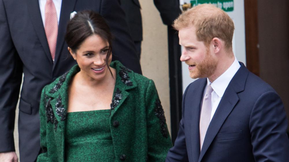 Gravide Meghan Markle og prins Harry