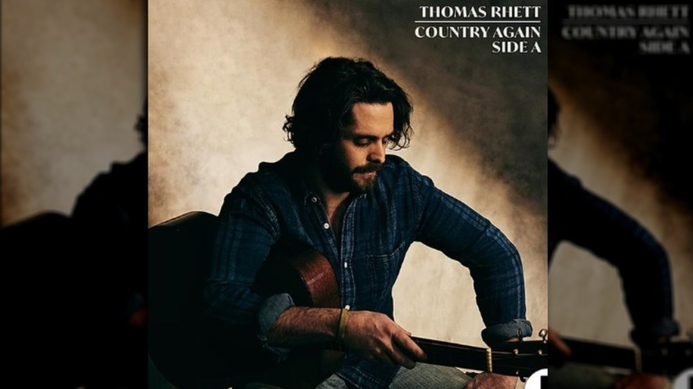 Thomas Rhett på coveret til sitt nye album Country Again