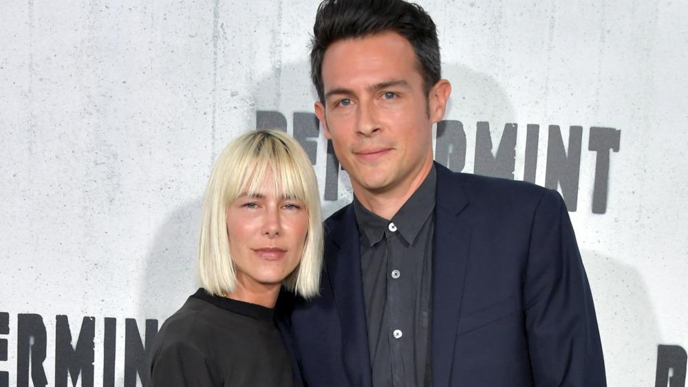 John Boyd og Nicole Vicious smiler begge