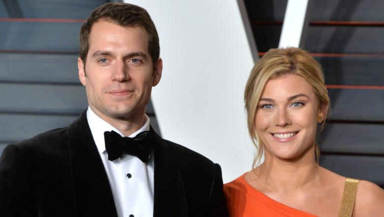 Henry Cavill og Tara King på et Oscar-arrangement