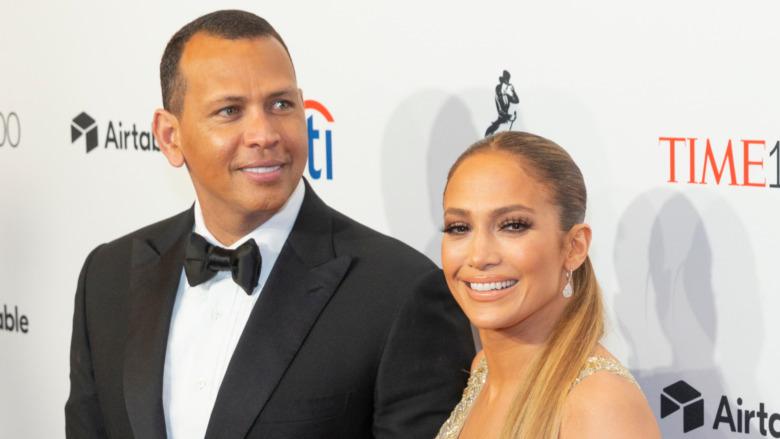 Alex Rodriguez og Jennifer Lopez i 2018