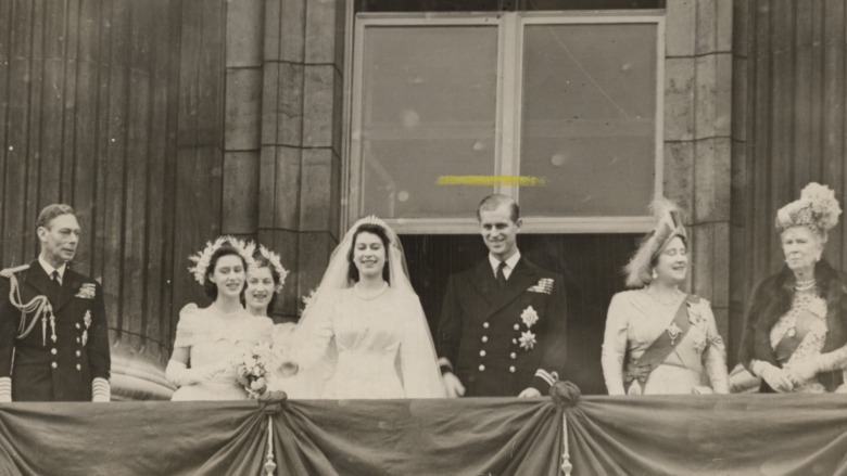 Prinsesse Elizabeth og prins Philip bryllupsdag