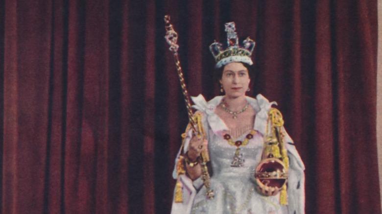 Dronning Elizabeth IIs kroning