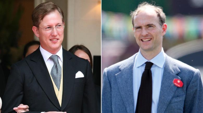 Bernhard, arvelig prins av Baden (L) og prins Donatus (R)