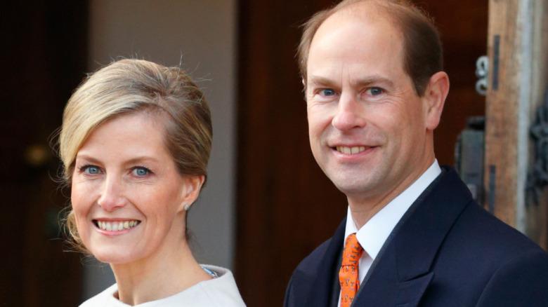 Prins Edward og grevinne Sophie
