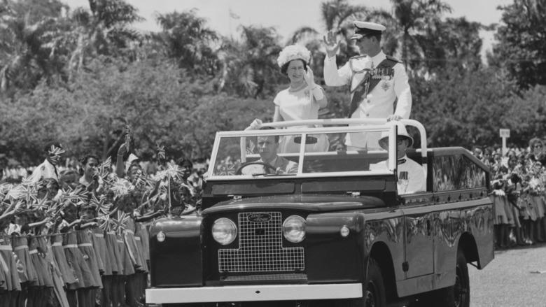 Dronning Elizabeth og prins Philip