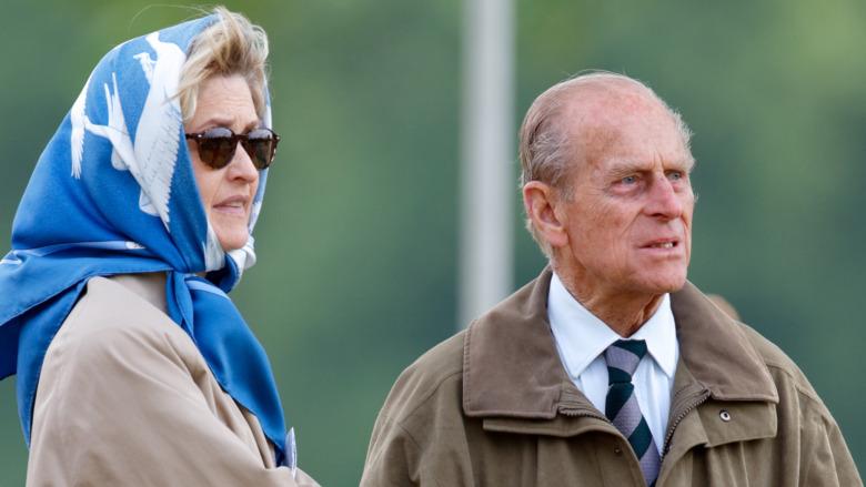 Penelope Knatchbull og prins Philip