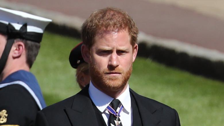 Prins Harry deltar i begravelsen til bestefar prins Philip 17. april 2021
