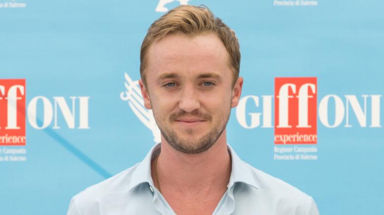 Tom Felton på filmfestival i Italia