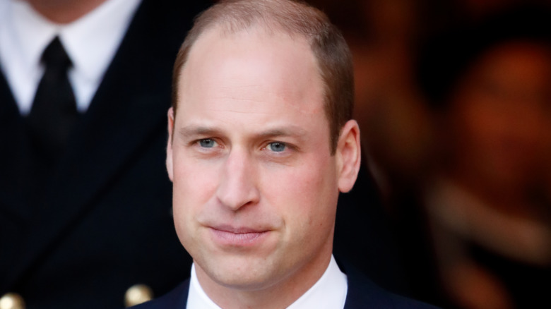 Prins William tynt hår