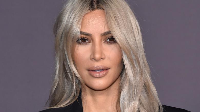 Kim Kardashian på den røde løperen