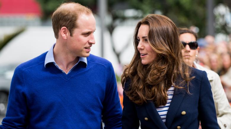 Prins William, Kate Middleton, snakker