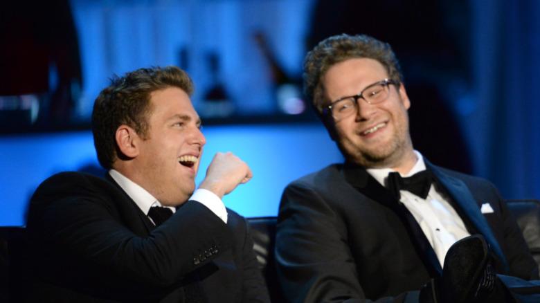 Seth Rogen og Jonah Hill 2013