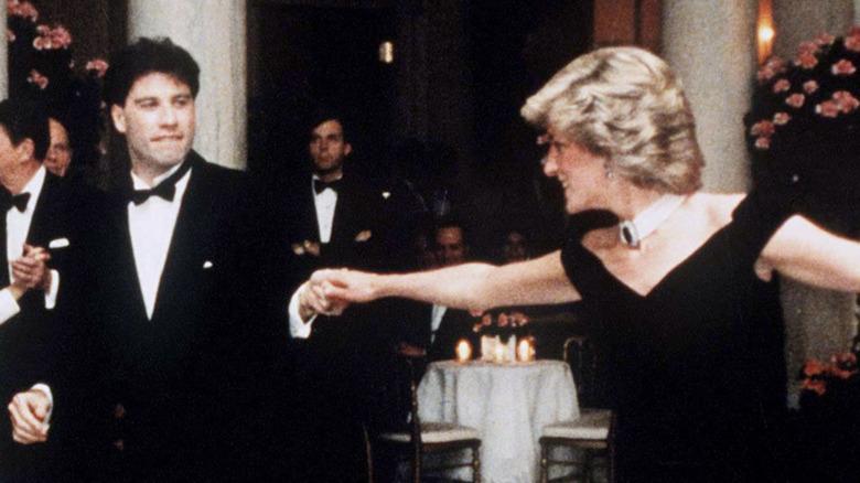 John Travolta danser med prinsesse Diana