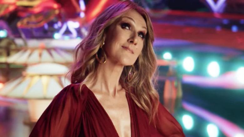 Celin Dion i Las Vegas-kampanjen