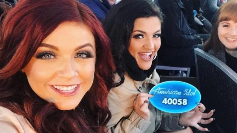 Payton Taylor og Taryn Coccia på American Idol-prøven
