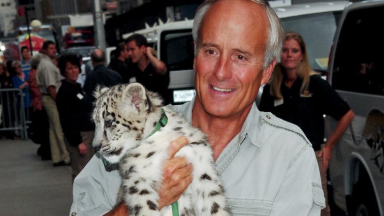 Jack Hanna og baby tiger