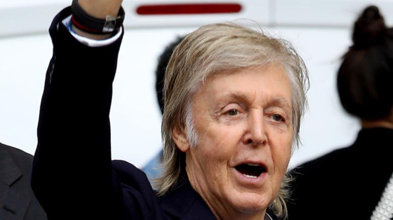 Paul McCartney smiler