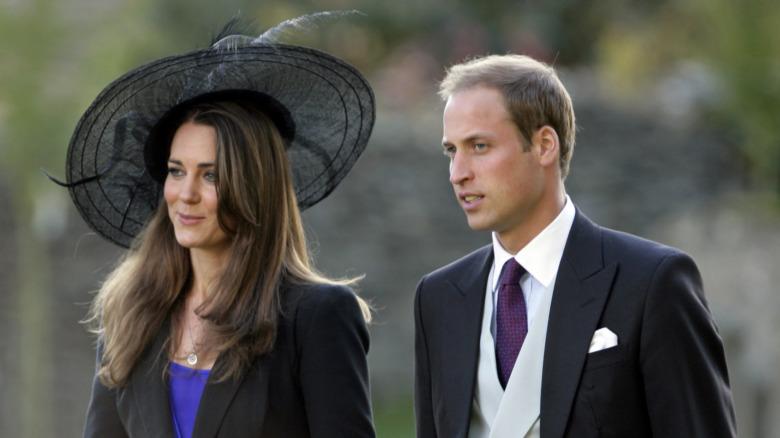 Kate Middleton og prins William går sammen