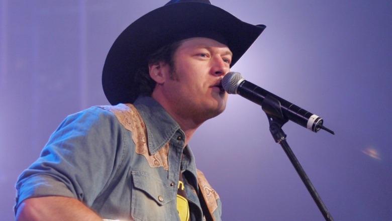 Blake Shelton opptrådte i 2006