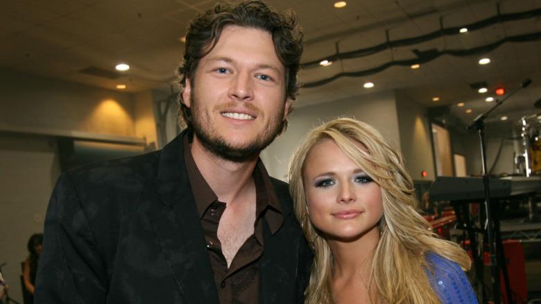Blake Shelton og Miranda Lambert smilte i 2007