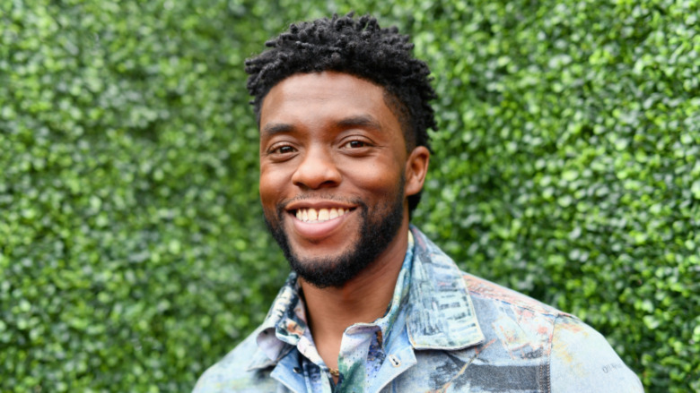 Chadwick Boseman smiler