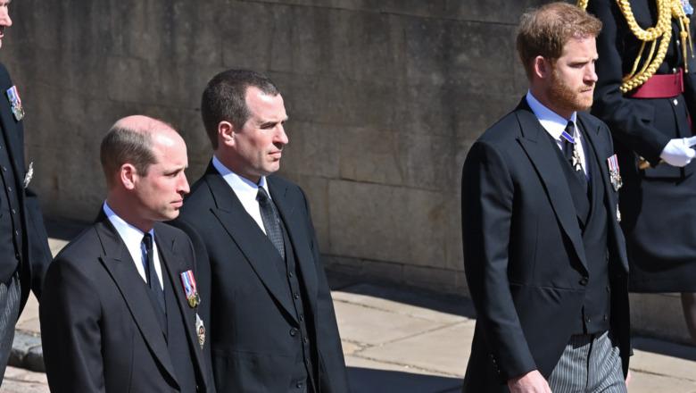 Prins William og prins Harry går på begravelsen til prins Philip